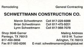 Schwettmann Construction