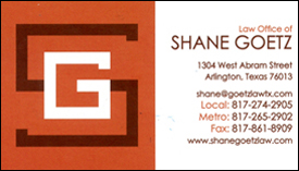Law Office of Shane Goetz